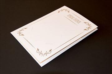 Karneti - ukrasne fascikle za podelu fotografija
