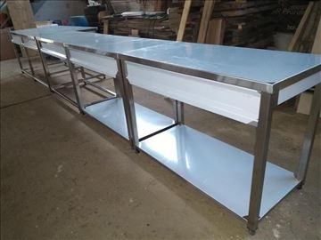 Radni i hladni stolovi od prohroma-po meri