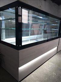 Rashladna vitrina za kolače - po meri