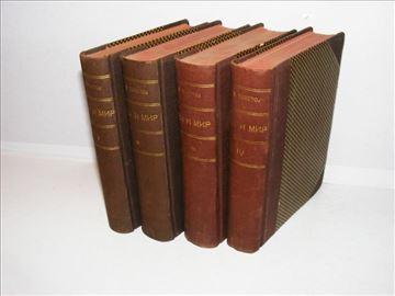 Rat i mir 1-4 Lav Tolstoj, 1928.