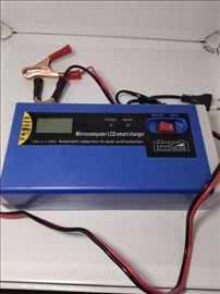 Punjac Akumulatora 12-24 V  Automatski