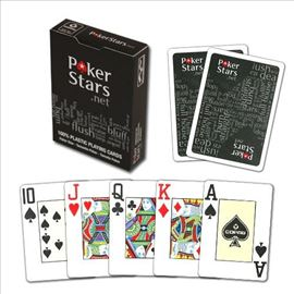 Poker karte Copag Poker Star Black