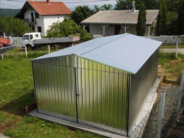 Montažna limena garaža standard 5x3 sa izolacijom