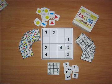 Edukativna igračka-Sudoku za decu   Odlično