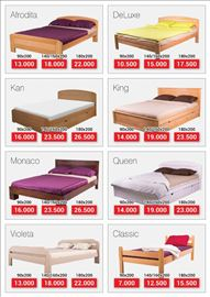 Jeftini kreveti singl, bračni kreveti, dušeci