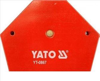Ugaoni magnet za zavarivanje PROFI 11.5 kg YATO Po