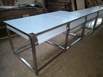 Inox radni stolovi-po meri