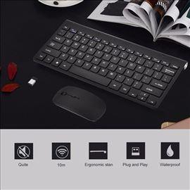 Bezicna bluetooth tastatura sa misem