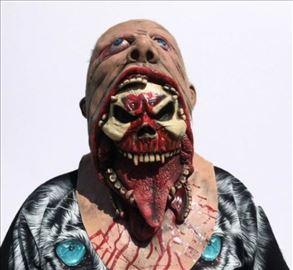 Evil Demon Zombi maska