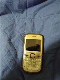 Gold Nokia C3