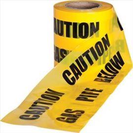 Traka za upozorenje, žuta