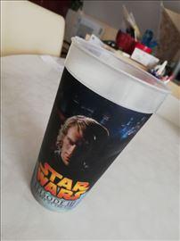 Raritet Star Wars plastična čaša sa promenom slika