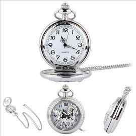 Džepni sat Pastuv Silver