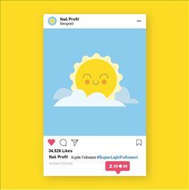 Dodavanje pratilaca na vas instagram profil