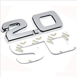 Metalni znak 2.0 - samolepljiv