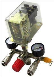 Racva sa sklopku za kompresor trofazna