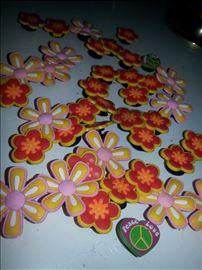 Cvetići za CROCS papče-Made in Italy