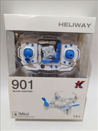 Dron kvadrokopter Haliway 901 - novo