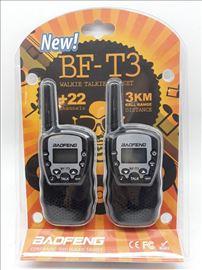 Baofeng BF-T3 toki voki set novo-Baofeng BF-T3 Tok