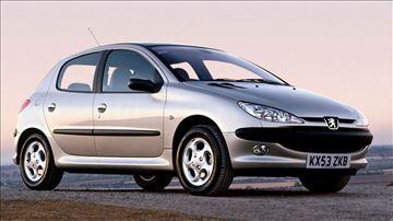 Peugeot 206 DELOVI NAJPOVOLJNIJE!