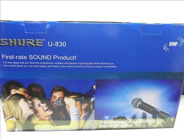 Shure U-830 bežični set 2 mikrofona Novo-Profi set