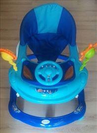 Dubak-šetalica za decu M030, plavi