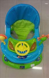 Dubak-šetalica za decu M030, plavo-zeleni