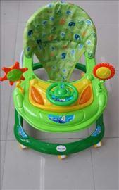 Dubak-šetalica za decu M030, zeleni
