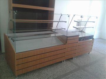 Tople i neutralne vitrine za pekare, picerije