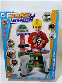Veliki set alata za dečake - radionica set