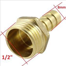 """Riblja kost priključak za crevo 1/2"""" – 8mm"""