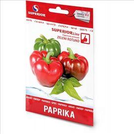 Paprika zeleni rotund seme