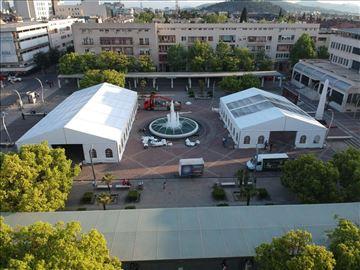 Prodaja šatora i pagoda raznih dimenzija