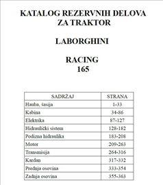 Lamborghini Racing 165 - Katalog delova