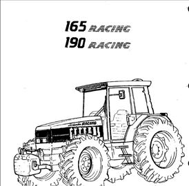 Lamborghini Racing 165 -190  RAdionički priručnik