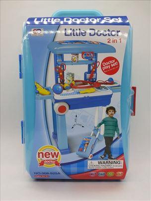 Kofer set- igračka za dečake - mali doktor set