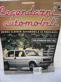 Časopis:Legendarni automobili bez maketeDeagostini