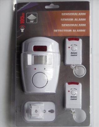 Alarm za kuću sa detektorom pokreta