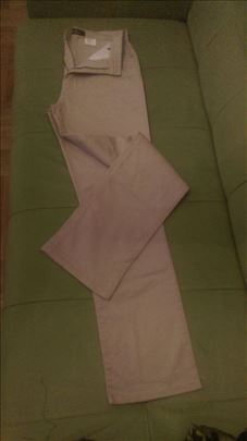 Fendi nove tanjeg somota pantalone crne i bež