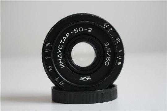 Industar-50-2 3.5/50 na M39 navoj