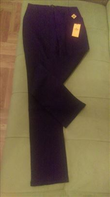 Nove Fendi platnene pantalone..teget,bež i crne