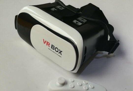 VR BOX 2.0- 3D naočare i bluetooth daljinski, bele