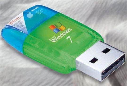 Windows 7 32 64 bita na USB extra jeftino čitaj