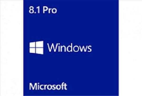 Windows 8.1 32 64 bita na DVD, extra jeftino citaj