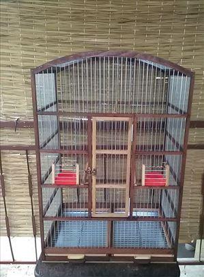 Polukruzni kavez sa podnim resetkama