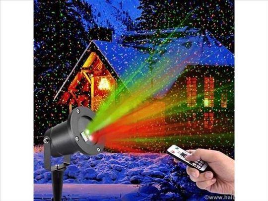 RGB laser zvezdano nebo