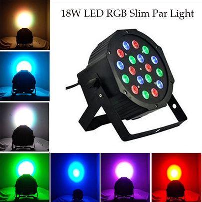 RGB led par 18W