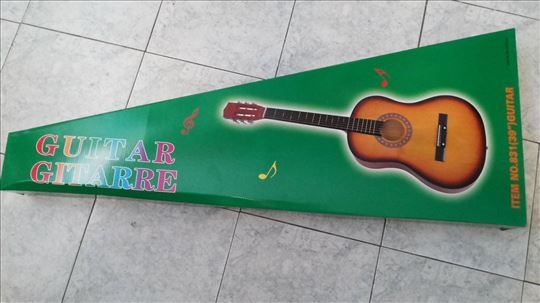Velika gitara, akustična, nova, akcija