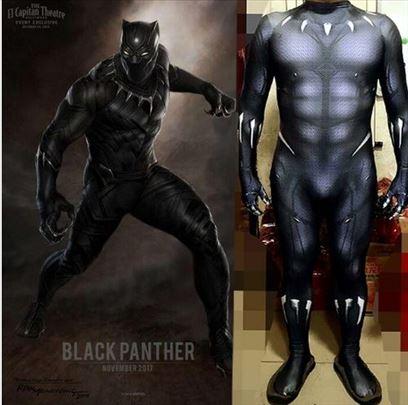 Crni panter kostim -novo