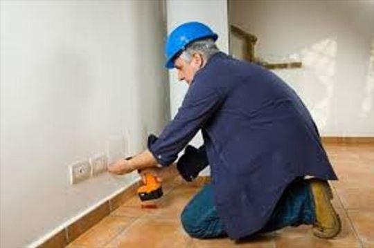 Haus usluge, električar, strujne instalacije, grej
